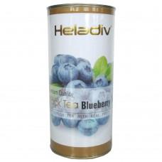 Чай черный, листовой Heladiv с Голубикой 100 гр.