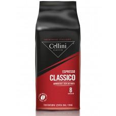 Купить кофе в зернах в Иркутске, Cellini Classico 1кг.