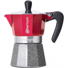 Кофеварка гейзерная Bialetti Aeternum Allegra red на 6 порций