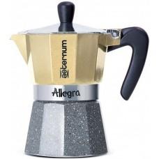Кофеварка гейзерная Bialetti Aeternum Allegra platino на 6 порций