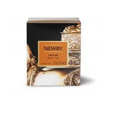Чай черный, листовой Newby Цейлон, 100 гр.