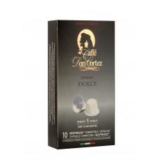 Don Cortez espresso DOLCE, 10шт*5,2гр