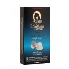 Don Cortez espresso GUATEMALA, 10шт*5,2гр