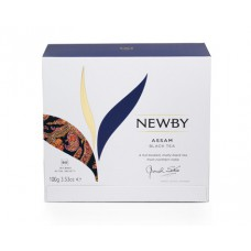 Чай черный, пакетированный Newby Ассам,50*2 гр