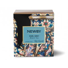 Чай черный, листовой Newby Эрл грей, 100 гр.