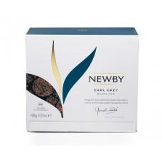 Чай черный, пакетированный Newby Эрл грей, 50*2 гр.