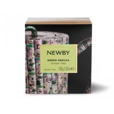 Чай зеленый, листовой Newby Зеленая Сенча, 100 гр.