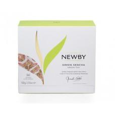 Чай зеленый, пакетированный Newby Зеленая Сенча,50*2 гр.