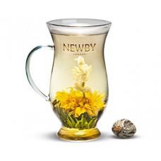 Чай зеленый, распускающийся Newby Гармония, 110 гр.