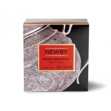 Чай черный, листовой Newby Индийский завтрак, 100гр.