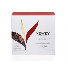 Чай черный, пакетированный Newby Индийский завтрак,50*2 гр