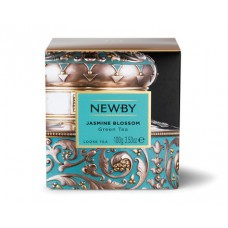 Чай зеленый, листовой Newby Цветок Жасмина, 100 гр.