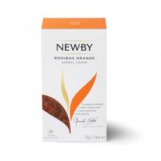 Напиток травяной, пакетированный Newby Ройбос Апельсин,25*2 гр.