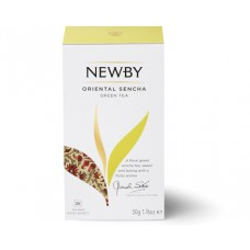 Чай зеленый, пакетированный Newby Восточная Сенча,25*2 гр
