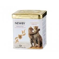 Чай черный, листовой Newby  Гир Wildlife, в жестяной банке 125гр.