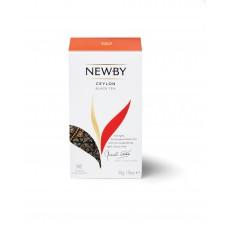 Чай черный, пакетированный Newby Цейлон, 25*2 гр.