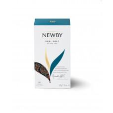 Чай черный, пакетированный Newby Эрл грей, 25*2 гр.