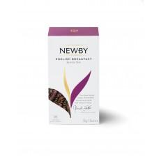 Чай черный, пакетированный Newby Английский завтрак,25*2 гр.