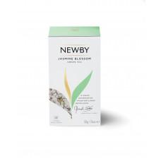 Чай зеленый, пакетированный Newby Цветок Жасмина, 25*2 гр.
