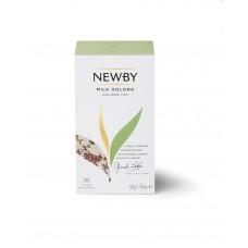 Чай зеленый, пакетированный Newby Молочный улонг, 25*2 гр.