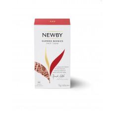 Чай фруктовый, пакетированный Newby Летние ягоды, 25*3 гр.