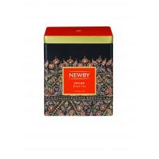Чай черный, листовой Newby Цейлон, в жестяной банке 125 гр.