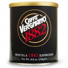 Кофе  молотый Vergnano Cristal, 250 гр.