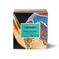 Чай зеленый, листовой Newby Марокканская мята, 100 гр.